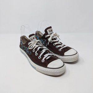 Converse CTAS Low Top Metallic Filigree Sneakers